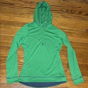 Alo 1/4 Zip Hooded Top